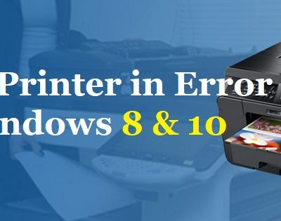 Brother Printer in Error State Windows 10