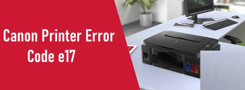 Canon Printer Error e17