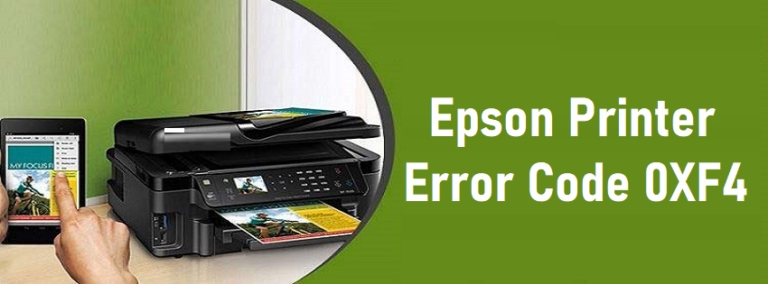 Epson Printer Error 0XF4