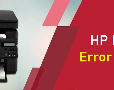 HP Printer Error e2