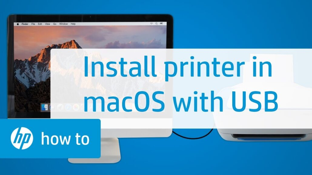 How to Install HP Printer to Mac