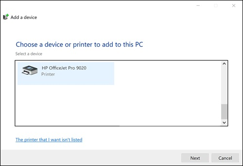 Printers and Devices