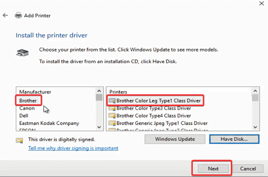 Download Brother Printer Drivers Windows