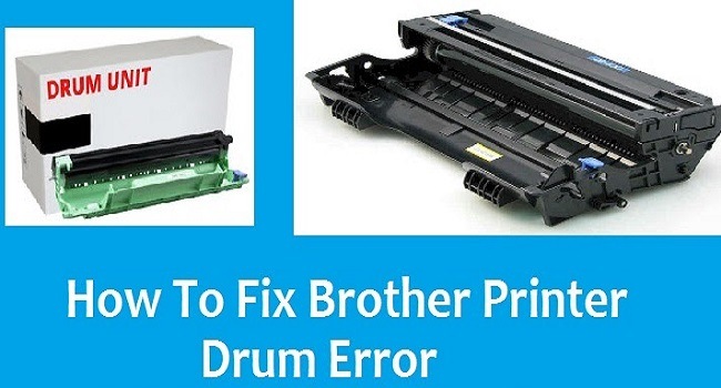 Brother Printer Drum Error
