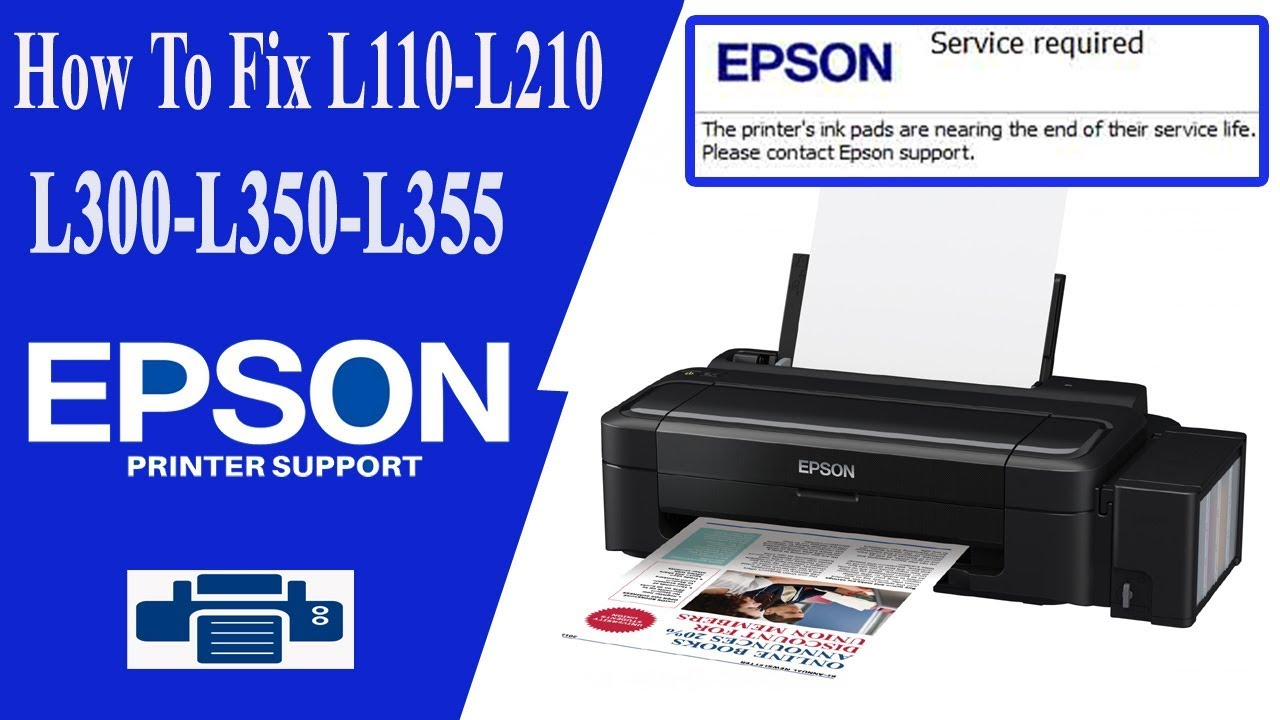 Epson Printer L110 Paper Jam Issue